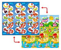 Развивающий коврик Babypol 1800x2000 Цифры и счет/Маленькая страна, фото 1