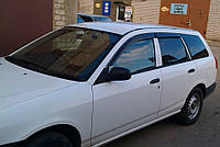 Дефлекторы окон (ветровики) Nissan AD Van (Y11) 1999-2008 (Ниссан АД Ван) Cobra Tuning