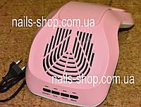 Вытяжка (пылесос) SIMEI 858-7 для маникюра розовая