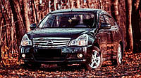 "Дефлекторы окон (ветровики) Nissan Almera (G11) Sd 2012""EuroStandard"" (Ниссан Альмера) Cobra Tuning"