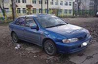"Дефлекторы окон (ветровики) Nissan Almera I Sd (N15) 1995-2000""EuroStandard"" (Ниссан Альмера) Cobra Tuning"