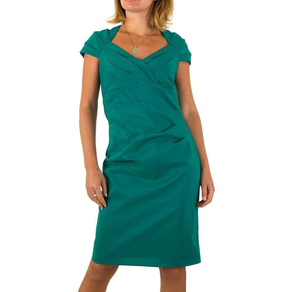 Женское платье от Vera Mont - petrol - Мкл-VM4826-petrol