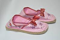 Мокасины текстильные розовые 32 рзм. (Д), фото 1