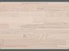 Паркетна дошка Befag 3-смугова Ясен Рустик Kopenhagen, білий (лак), фото 2