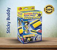 Sticky Buddy (Стики Бадди) - набор профессиональных силиконовых валиков для уборки, фото 1