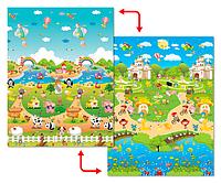 Развивающий коврик Babypol 1800x1500 Сказочная ферма, фото 1
