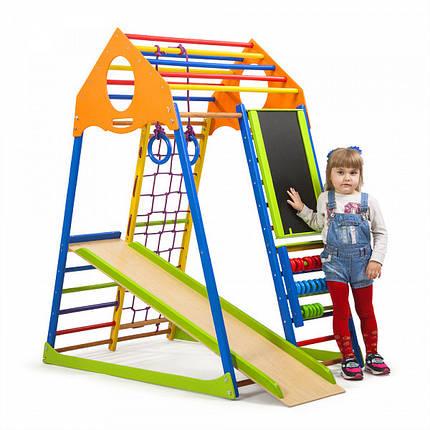 Детский спортивный комплекс KindWood Color Plus, фото 2