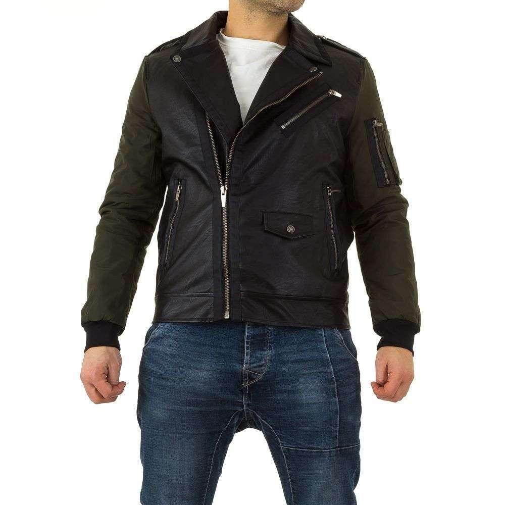 Куртка косуха мужская Uniplay (Европа), Черный