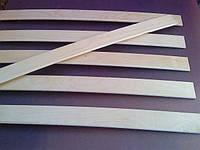 Березовые Кроватные ламели 700х53х8 мм С КРЕПЛЕНИЯМИ ОПТОМ, фото 1