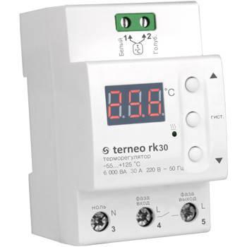 Температурный регулятор Terneo rk30