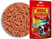 Корм Тропикал для прудовых рыб, Tropical KOI & GoldFish Daily Sticks.Ведерко 5000 мл (600 гр)