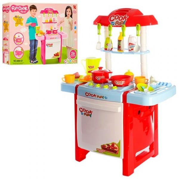 Кухня детская со звуками (2 цвета) арт. 889-57-58