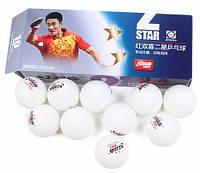 Мячи для настольного тенниса DHS 40+ ITTF (10 шт., белый)
