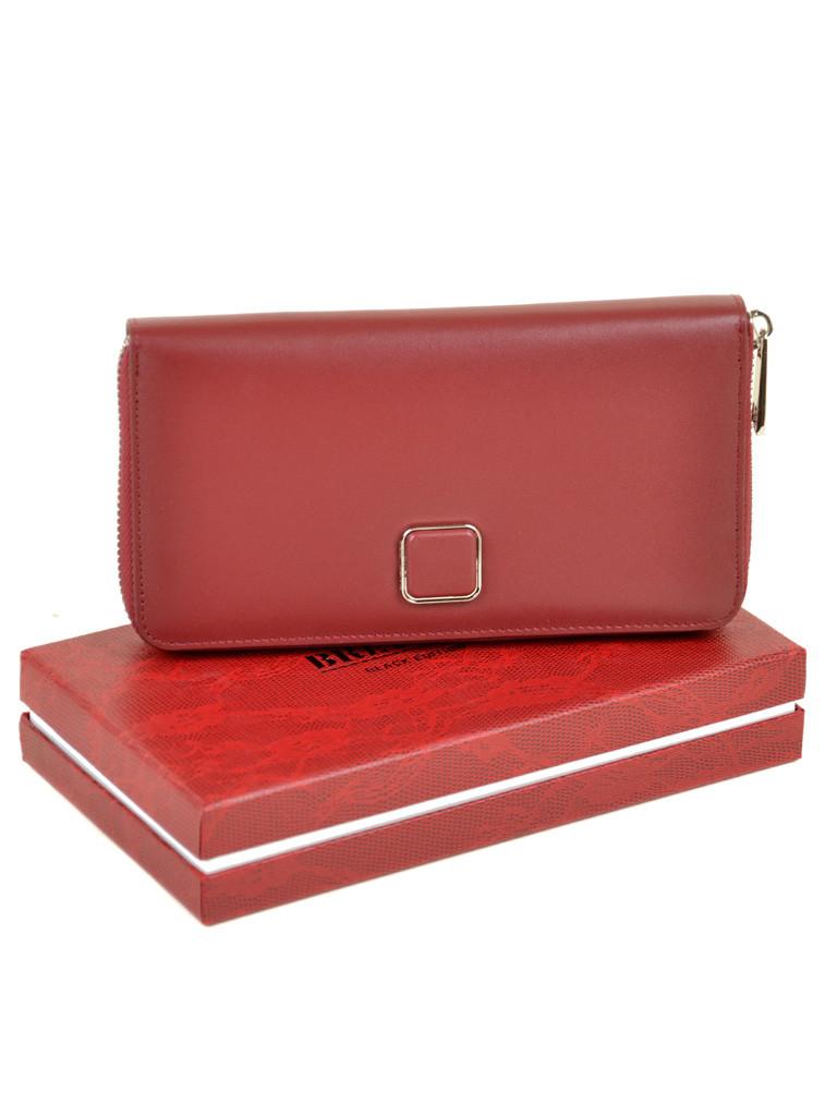 Женский кожаный кошелек Bretton W7322 d-red