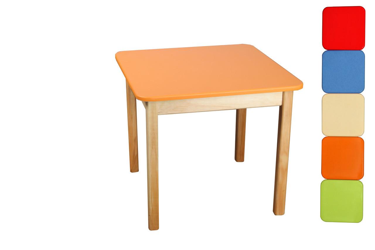 *Стол деревянный цветной ТМ Финекс (7 цветов) арт. 021-027