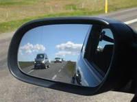 Зеркало заднего вида автомобиля