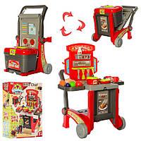 Детская кухня-трансформер на тележке арт. 008-930