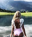 Купальник слитный с крылышками, фото 3