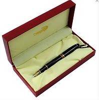 Ручка перьевая Crocodile черный корпус в пенале 510