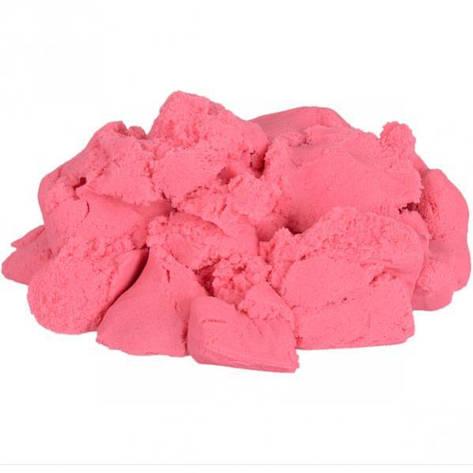 Кинетический песок розовый 1000 г, фото 2