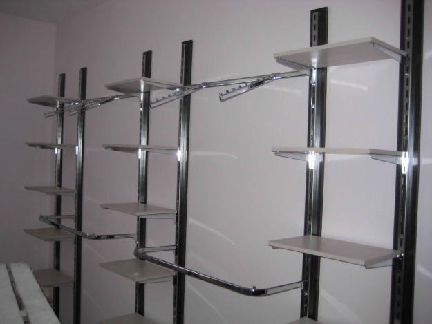 Изготовим и установим под ключ торговое оборудование для Вашего магазина, Системый на основе профиля