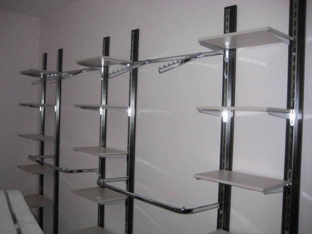 Изготовим и установим под ключ торговое оборудование для Вашего магазина, Системый на основе профиля, фото 2