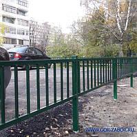 Забор для ограждения тротуара от дороги