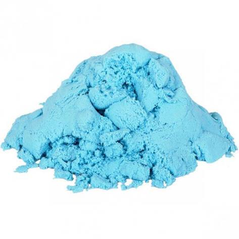 Кинетический песок голубой 1000 г, фото 2