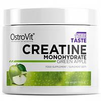 Креатин моногидрат OstroVit - Creatine (300 грамм) green apple/зеленое яблоко