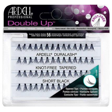 Двойные пучковые накладные ресницы с заостреными кончиками Ardell™ Duralash Double Up Soft Touch - 8 мм., фото 2