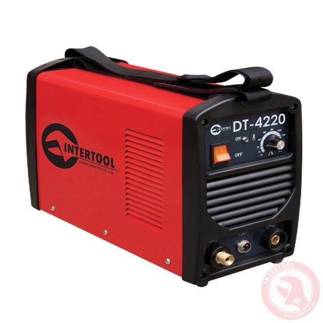 Зварювальний інвертор для аргоно-дугового зварювання 230В, 4.5 кВт, 10-200А INTERTOOL