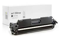 Картридж HP LaserJet Pro MFP M130nw (чёрный c тонером) совместимый, 1.600 копий, аналог от Gravitone
