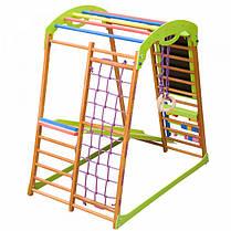 Детский спортивный комплекс для дома BabyWood Plus, фото 3
