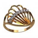 Золотое кольцо - Бриллиантовый веер