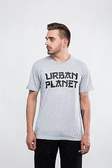 Футболка JPN MEL Urban Planet L 100% котон Меланж UP 3-5-2-02