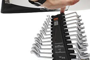Ключи двухсторонняя-кольцевые 12el. KD10942, фото 2