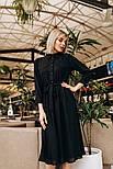 Женское модное платье с плиссировкой, фото 2