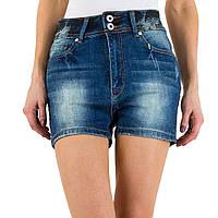 Джинсовые шорты с потертостями от Daysie Jeans (Европа) Синий