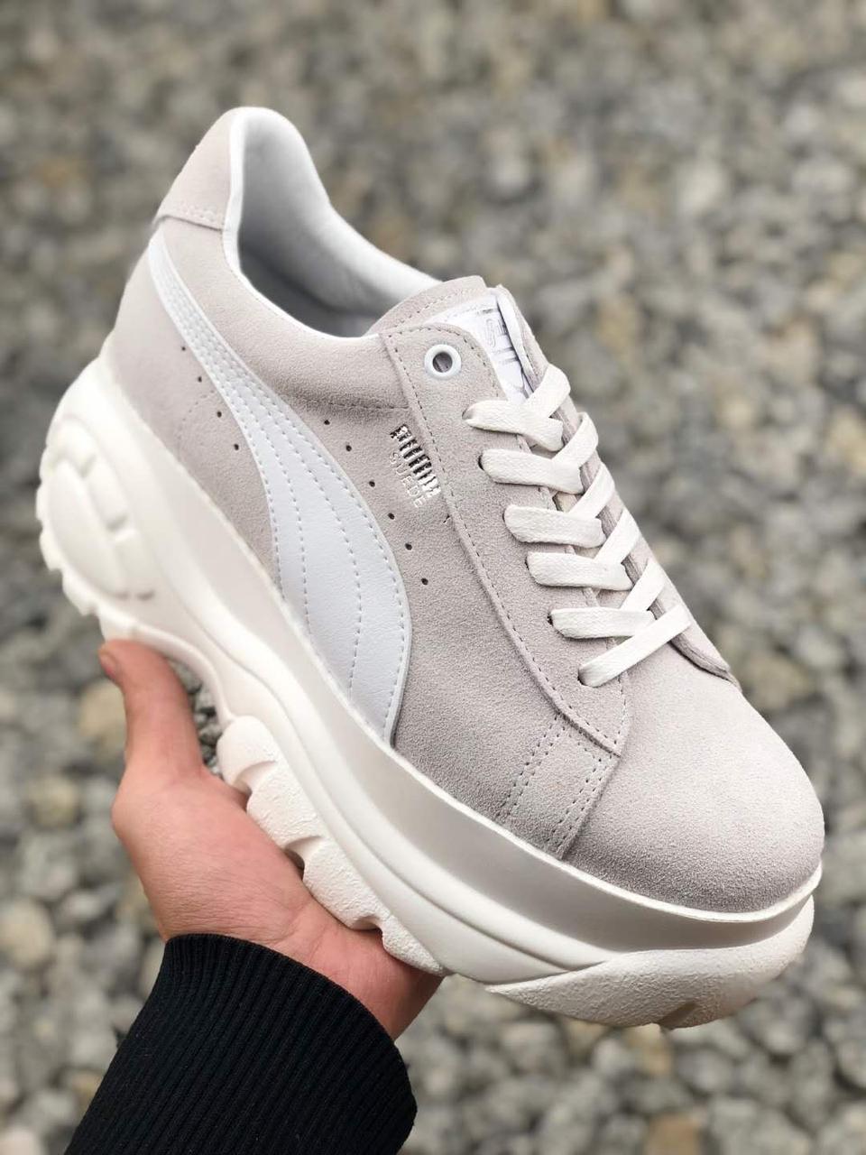 Женские кроссовки Puma Buffalo Grey - Компания