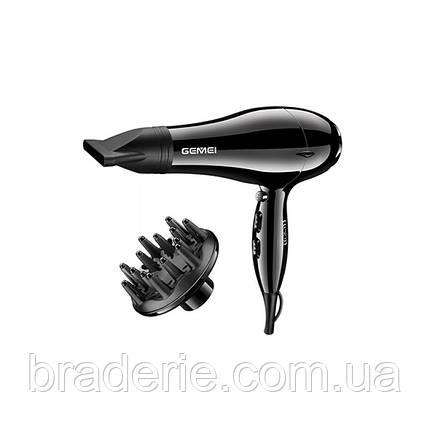 Фен для сушки волос GEMEI GM 103, фото 2