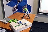 Интерактивный сенсорный модуль CamTouch WS-2 (два стилуса, для короткофокусного проектора)
