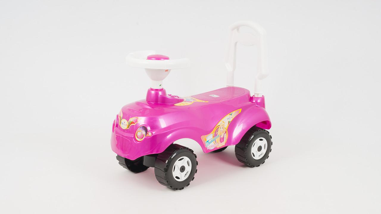 Каталка-толокар Микрокар. Барби ORION 157-D. Розовый