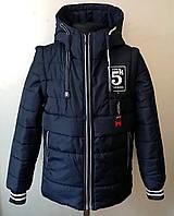 Куртка жилетка на мальчика 4-7лет демисезонная детская, фото 1