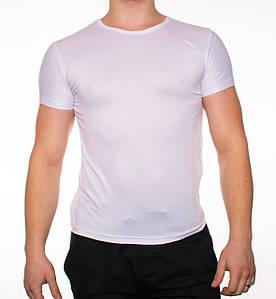 """Мужская футболка """"JUST""""белая"""
