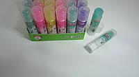 """Клей-карандаш Цветной """"Радужный Stick Зеленый"""",8гр,силикатный для школы и офиса.Клей-олівець Кольоровий сухий"""
