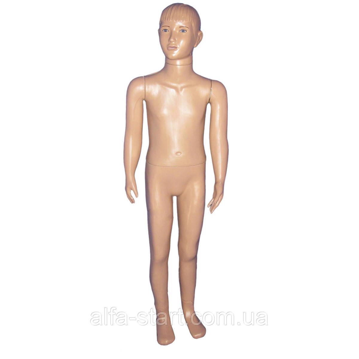 Манекен дитячий реалістичний у повний зріст з макіяжем