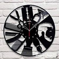 Интерьерные настенные часы (настінні годинники) декоративные Парикмакер