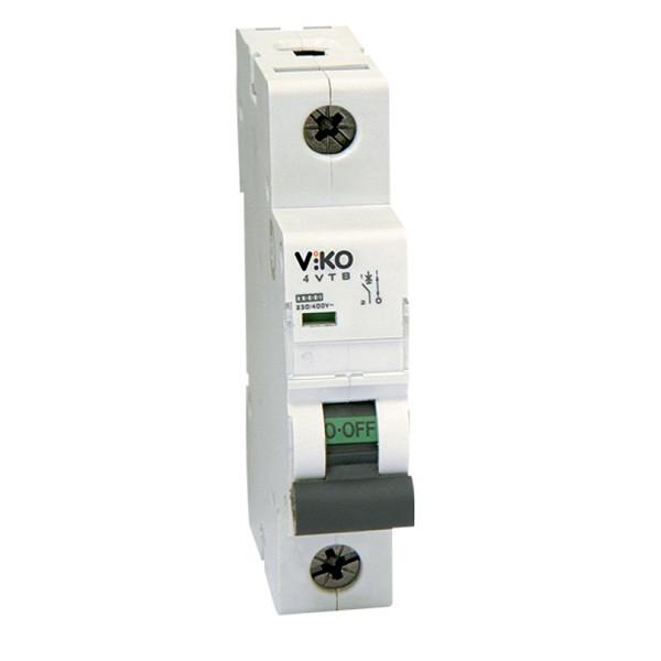 4VTB-C16 Автомат 1C однополюсный 16А 4,5КА 230/400V тип С