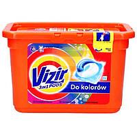 Гель-Капсулы Для Стирки Vizir Pods Color Для Цветного Белья, 16 Штук * 24,8 Г (Код:1735) Состояние: НОВОЕ, фото 1