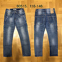 Джинсы для мальчиков оптом, Grace, 116-146 см,  № B80515